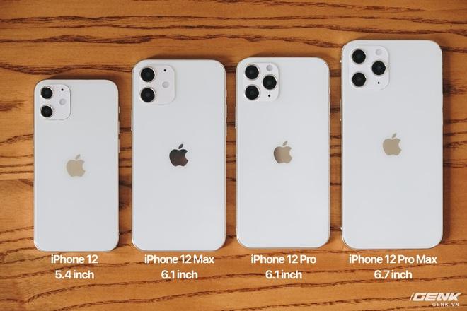 So sánh iPhone 12 5.4 inch với iPhone 4, iPhone 5 và iPhone 6: Chiếc iPhone nhỏ gọn đáng để chờ đợi - Ảnh 1.