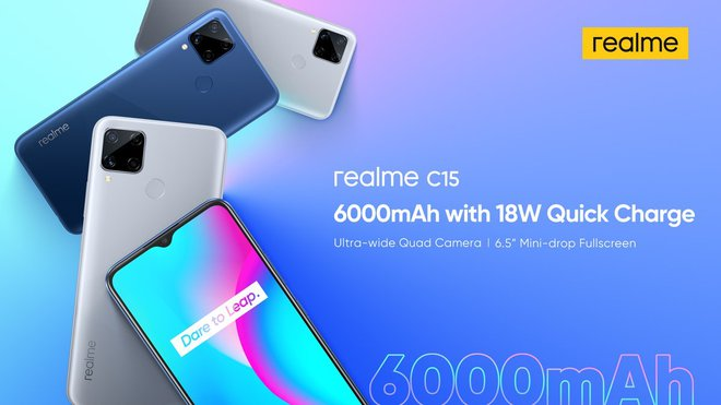 Realme C15 ra mắt: Helio G35, 4 camera sau, pin 6000mAh, giá từ 3.2 triệu đồng - Ảnh 3.