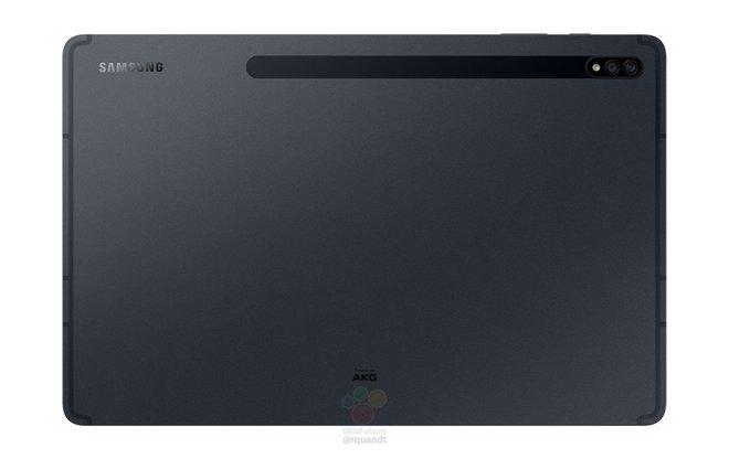 Đây là Galaxy Tab S7/S7+: Thiết kế giống iPad Pro, màn hình 120Hz, Snapdragon 865+ - Ảnh 1.