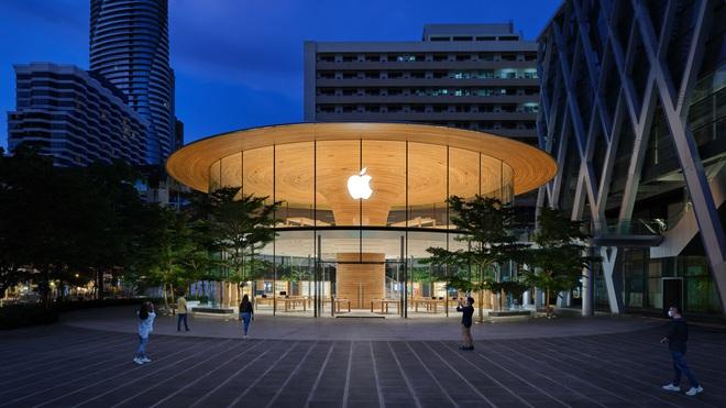 Chiêm ngưỡng Apple Store thứ hai tại Thái Lan, khai trương cuối tuần này - Ảnh 1.