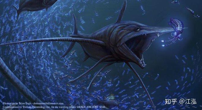 Phát hiện loài cá kiếm cổ đại với hàm răng sắc nhọn ngoại cỡ - Ảnh 1.