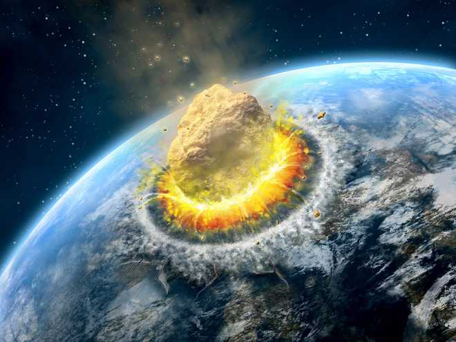 Nghiên cứu mới khẳng định thiên thạch đường kính lên tới 81 km xóa sổ loài khủng long, nhưng rồi núi lửa phun trào đã khiến sự sống hồi phục - Ảnh 1.