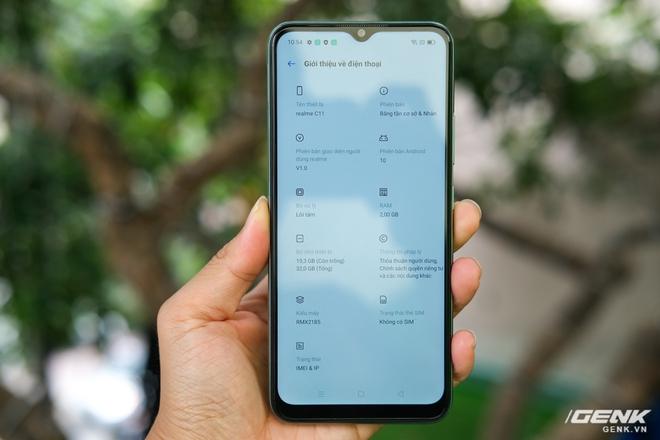 Trên tay C11: Chiếc điện thoại giá chỉ 3 triệu đồng đến từ Realme - Ảnh 8.
