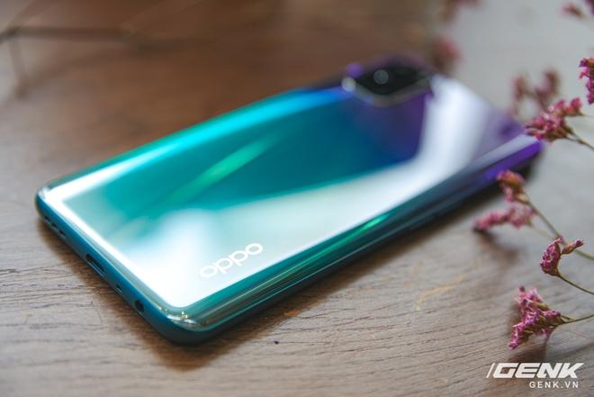 Trên tay OPPO A92 màu tím mới: mặt lưng lạ đẹp, giá không đổi - Ảnh 4.