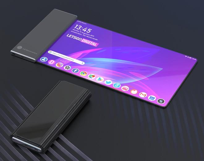 Điện thoại màn hình mới của LG có thể sẽ sử dụng dạng cuộn như tờ giấy