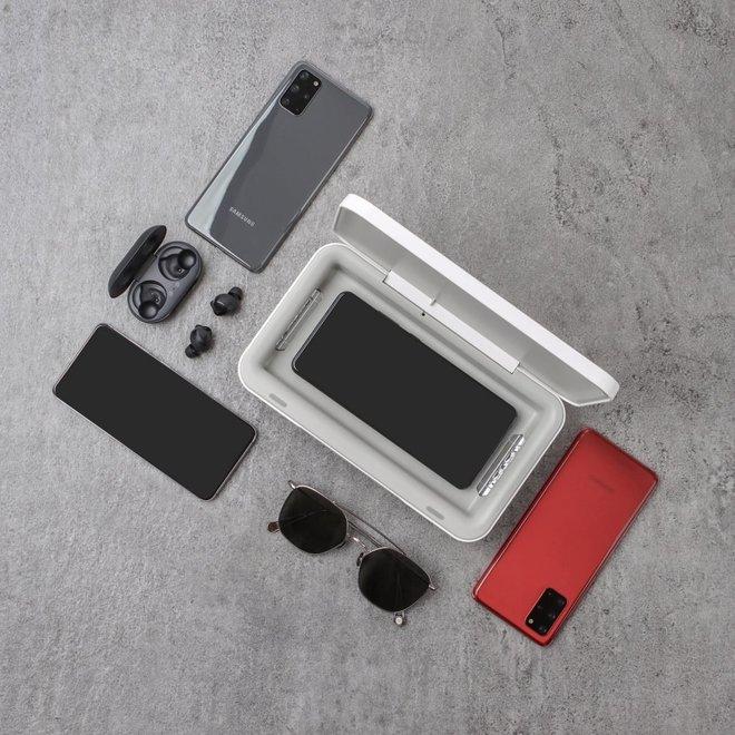 Samsung ra máy máy khử trùng UV cho smartphone kiêm sạc dự phòng, giá 1.2 triệu đồng - Ảnh 2.
