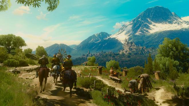 Redditor tích hợp phong cảnh tươi đẹp trong The Witcher 3 vào màn hình máy chạy bộ, mỗi lần tập thể dục là 1 lần được vào game du ngoạn - Ảnh 1.