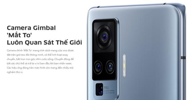 Vivo X50 series ra mắt tại VN: Màn hình 90Hz, Snapdragon 730/765G hỗ trợ 5G, cụm 4 camera Gimbal, giá 12.99/19.99 triệu đồng - Ảnh 6.