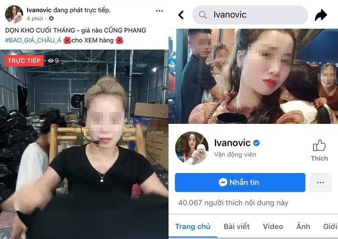 Fanpage cựu sao Ngoại hạng Anh bất ngờ bị hacker Việt chiếm quyền quản trị để livestream bán quần áo - Ảnh 1.