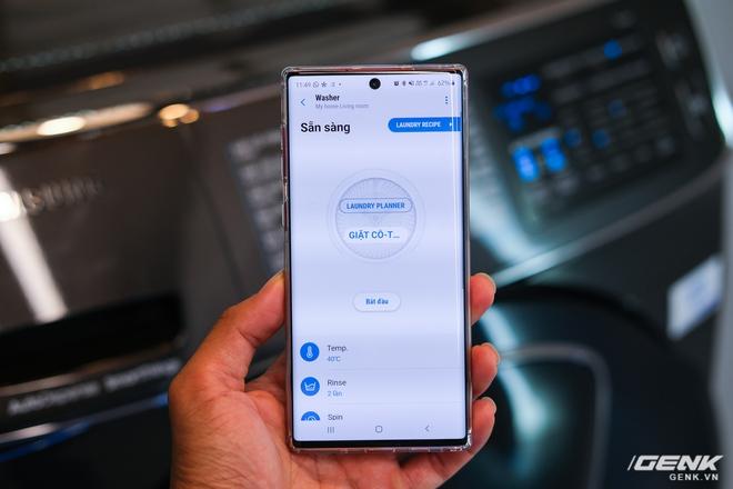 Samsung ra mắt tủ lạnh thông minh đầu tiên tại Việt Nam: lướt web, nghe nhạc, nhắn tin ngay trên cửa tủ, tự chụp ảnh mỗi lần đóng, giá gần 47 triệu - Ảnh 8.