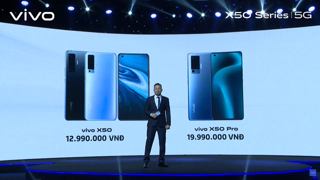 Vivo X50 series ra mắt tại VN: Màn hình 90Hz, Snapdragon 730/765G hỗ trợ 5G, cụm 4 camera Gimbal, giá 12.99/19.99 triệu đồng - Ảnh 10.