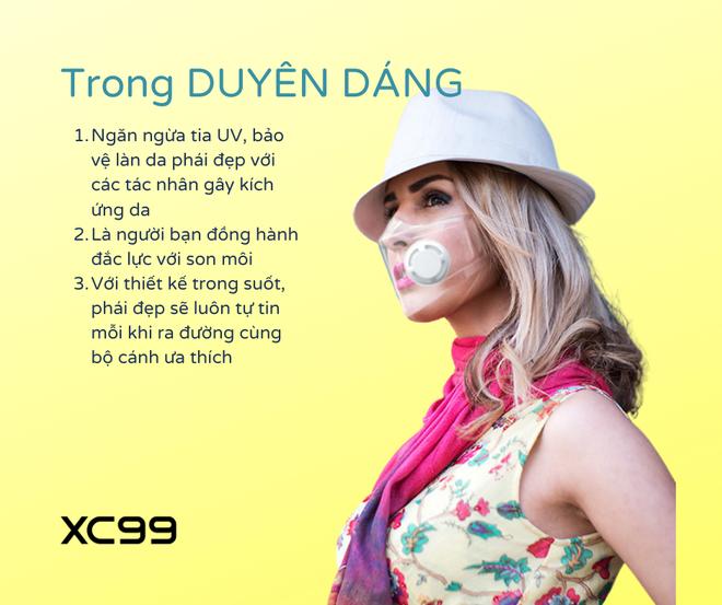 """Dân mạng lại """"rần rần"""" vì mốt khẩu trang nhựa trong suốt: Hàng Made in Việt Nam, dùng được FaceID, ngăn giọt bắn 100% - Ảnh 5."""