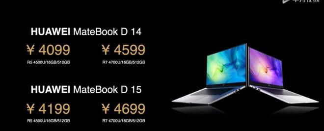 Huawei MateBook D 14/15 ra mắt: AMD Ryzen 4000 series, mỏng và nhẹ, giá từ 13.6 triệu đồng - Ảnh 2.