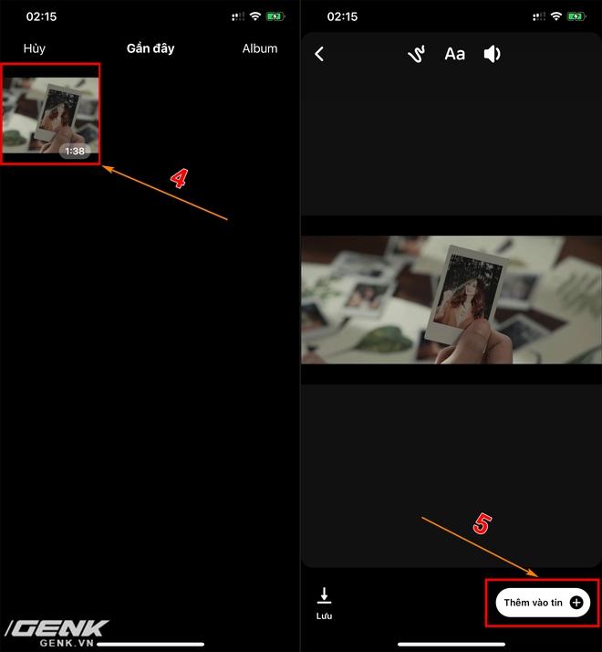 Hướng dẫn đăng video dài lên story Facebook, không bị giới hạn cho iOS và Android - Ảnh 4.