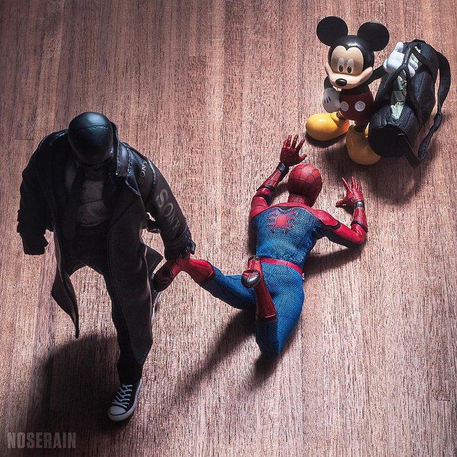 Thán phục với khả năng sáng tạo vô hạn của nhiếp ảnh gia, chụp mô hình đồ chơi thôi mà cũng phải lung linh như poster phim bom tấn - Ảnh 12.