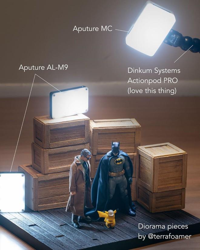 Thán phục với khả năng sáng tạo vô hạn của nhiếp ảnh gia, chụp mô hình đồ chơi thôi mà cũng phải lung linh như poster phim bom tấn - Ảnh 3.