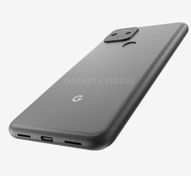 Đây là Google Pixel 5: Màn hình đục lỗ, mặt lưng giống Pixel 4 nhưng có thêm cảm biến vân tay? - Ảnh 2.