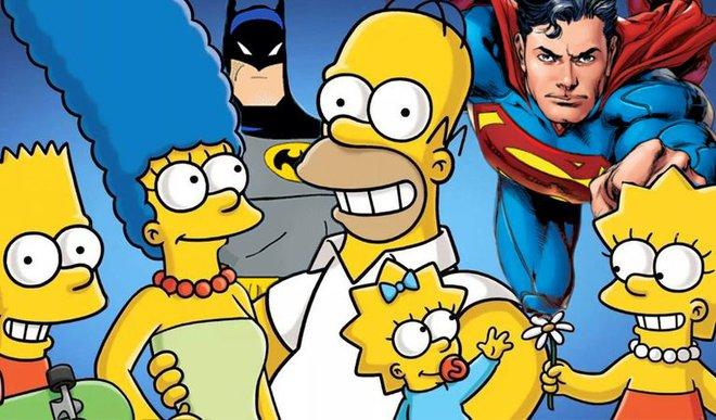 Chỉ với một khung tranh, nhân vật của The Simpsons đã trở thành một phần của đa vũ trụ truyện tranh DC - Ảnh 1.