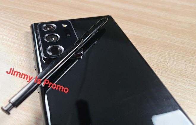 Samsung Galaxy Note 20 Ultra lần đầu tiên lộ ảnh thực tế: Viền bezel mỏng hơn, camera đục lỗ nhỏ hơn, màn hình cong hơn - Ảnh 5.