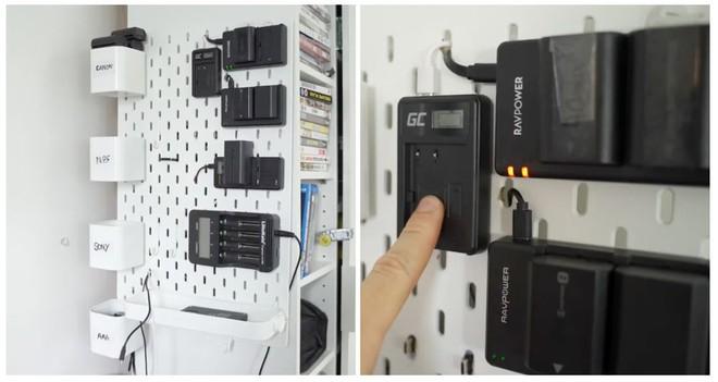 Cách tự tạo trạm sạc gắn tường độc đáo cho tất cả thiết bị điện tử của bạn - Ảnh 1.