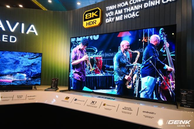 Cận cảnh TV Bravia 8K và OLED 4K nhỏ nhất thị trường Việt Nam của Sony - Ảnh 2.
