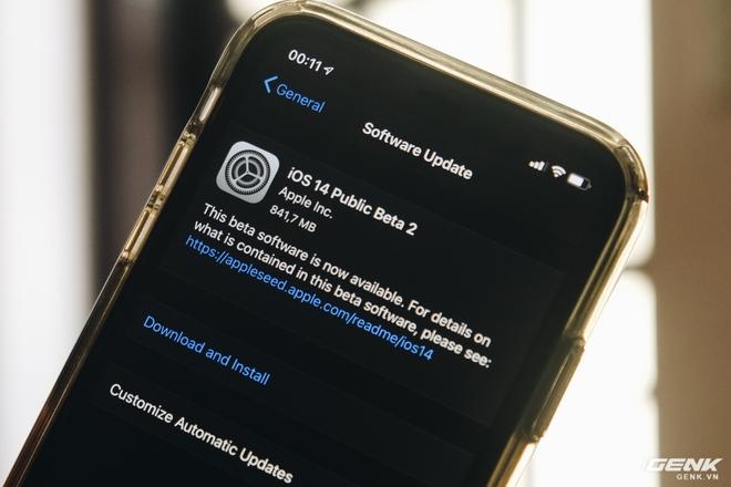Những điểm mới trên iOS 14 Beta 2: Sửa lỗi của Beta 1, biểu tượng mới, cảnh báo bảo mật khi vào Wi-Fi lạ - Ảnh 1.