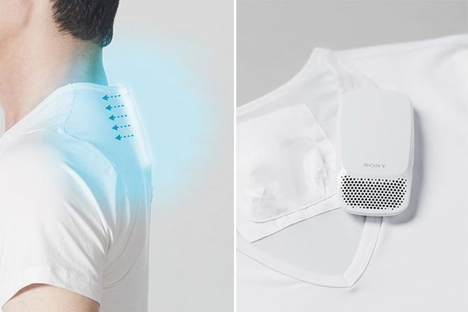 Sony ra mắt máy điều hòa di động gắn bên trong áo, giá 120 USD - Ảnh 3.