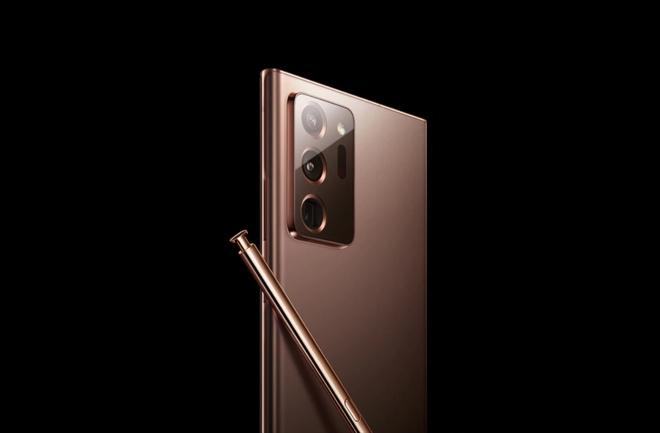 [Video] Trên tay Galaxy Note 20 Ultra trước ngày ra mắt: Cụm camera lồi nhiều, bút S-Pen giống Note 10 - Ảnh 1.