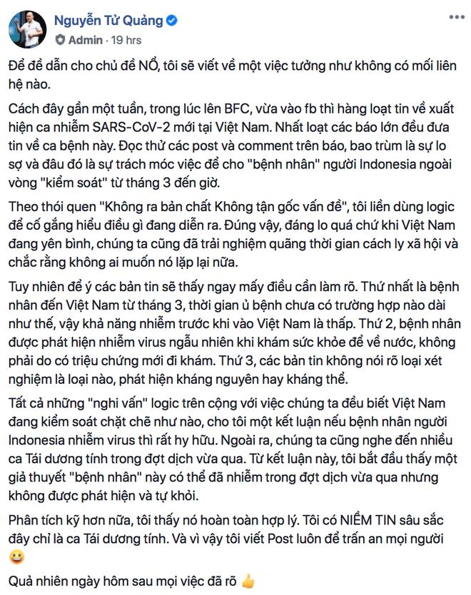 CEO BKAV Nguyễn Tử Quảng: Việt Nam cần nhiều người dám nổ hơn nữa - Ảnh 2.