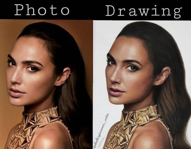 Loạt tranh siêu thực vẽ bằng bút chì khiến người xem không thể rời mắt vì quá chân thực - Ảnh 2.
