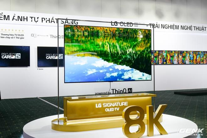 Cận cảnh 2 TV OLED 8K mới nhất của LG: Mỏng, đẹp, giá cũng sang chảnh không kém - Ảnh 1.