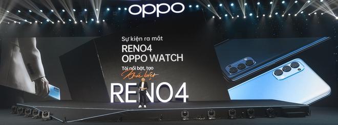 OPPO ra mắt Reno4, Reno4 Pro và OPPO Watch tại Việt Nam - Ảnh 1.