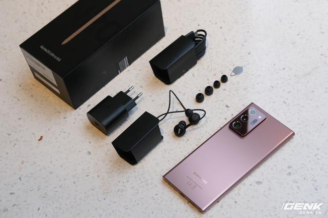 Mở hộp Galaxy Note20 Ultra 5G chính hãng giá 32,99 triệu đồng - Ảnh 2.