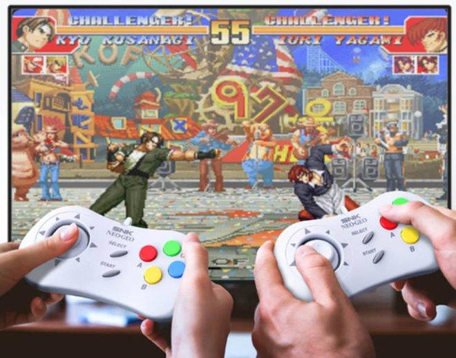 Xiaomi mở bán máy chơi game Neo Geo Mini với 40 trò chơi kinh điển của thời 8x, 9x - Ảnh 4.