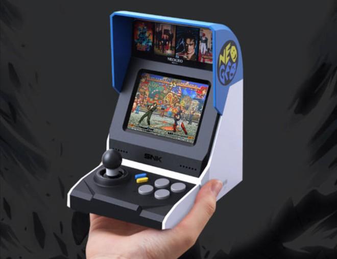 Xiaomi mở bán máy chơi game Neo Geo Mini với 40 trò chơi kinh điển của thời 8x, 9x - Ảnh 1.