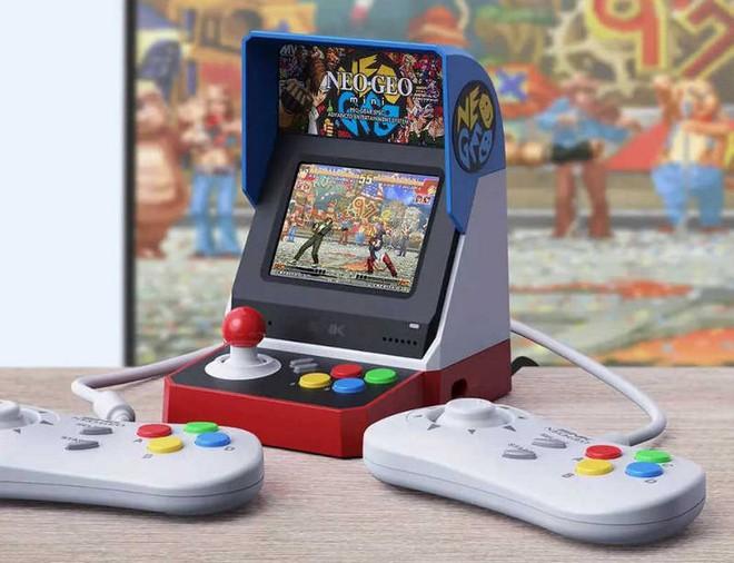 Xiaomi mở bán máy chơi game Neo Geo Mini với 40 trò chơi kinh điển của thời 8x, 9x - Ảnh 2.
