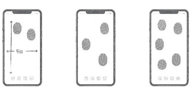 Huawei hé lộ bằng sáng chế giúp mở khóa vân tay từ mọi vị trí trên màn hình smartphone - Ảnh 2.