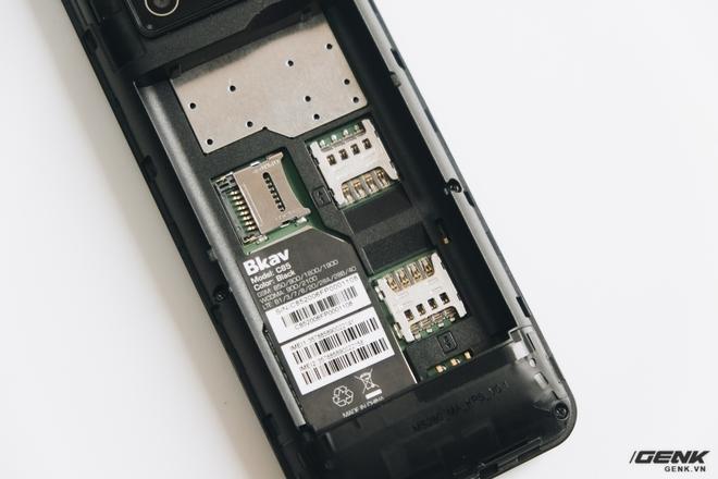 Trên tay BKAV C85 giá 500.000 đồng: Pin 3000mAh, chạy KaiOS, hỗ trợ 4G, tiếc rằng không có Wi-Fi - Ảnh 14.