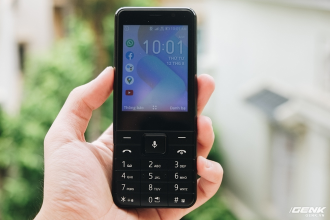Trên tay BKAV C85 giá 500.000 đồng: Pin 3000mAh, chạy KaiOS, hỗ trợ 4G, tiếc rằng không có Wi-Fi - Ảnh 8.