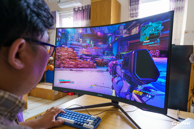 Trải nghiệm nhanh Samsung Odyssey G7: màn hình gaming 240Hz có điểm nhấn công nghệ QLED - Ảnh 13.