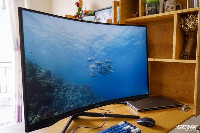 Trải nghiệm nhanh Samsung Odyssey G7: màn hình gaming 240Hz có điểm nhấn công nghệ QLED - Ảnh 18.