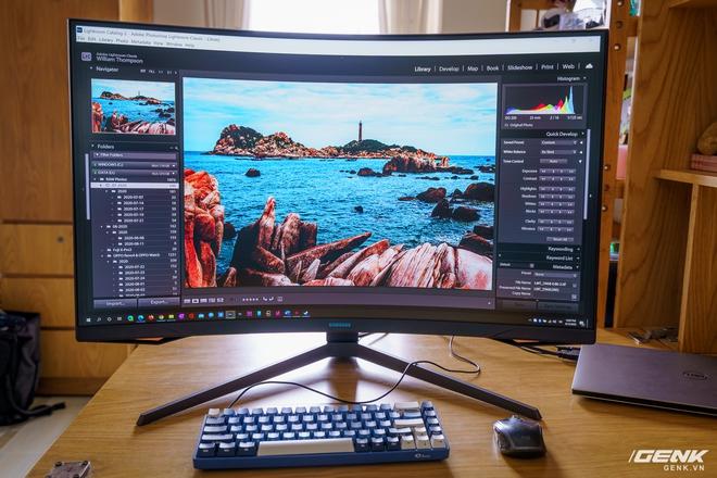Trải nghiệm nhanh Samsung Odyssey G7: màn hình gaming 240Hz có điểm nhấn công nghệ QLED - Ảnh 14.
