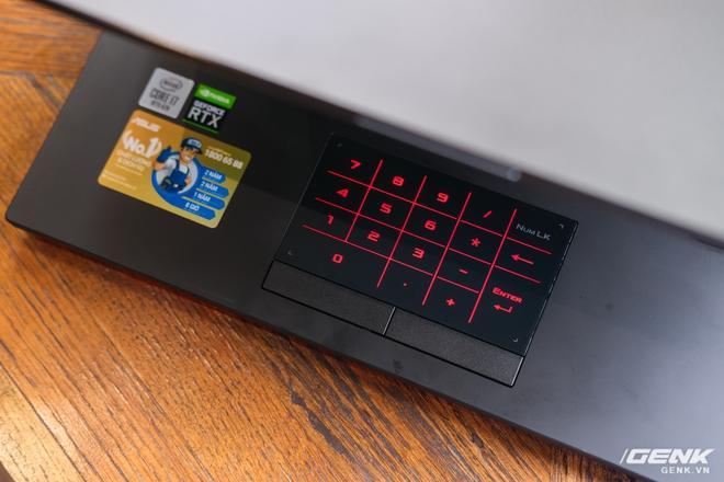 Cận cảnh laptop chiến game hàng khủng ROG Strix SCAR 15 (2020): Thiết kế không đổi, nâng cấp cấu hình với Core i7 Gen 10, RTX 2060 115W, giá căng gần 48 triệu - Ảnh 7.