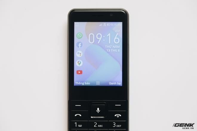 Trên tay BKAV C85 giá 500.000 đồng: Pin 3000mAh, chạy KaiOS, hỗ trợ 4G, tiếc rằng không có Wi-Fi - Ảnh 16.