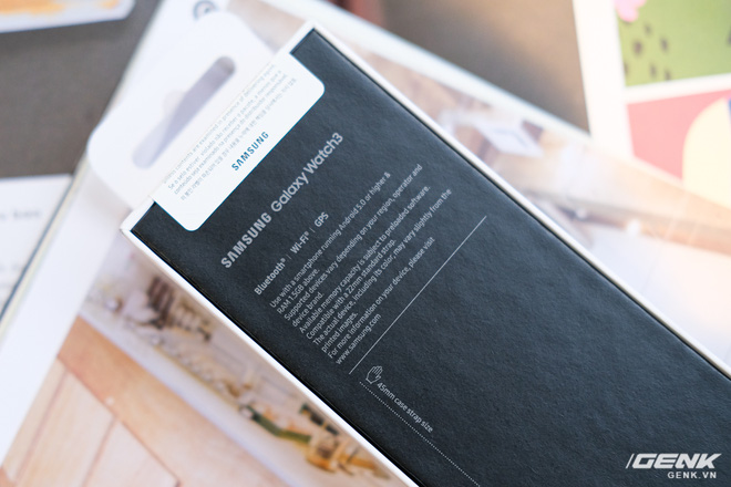 Mở hộp Galaxy Watch3 mặt 45mm: Thiết kế thanh lịch hơn, trang bị khả năng đo nồng độ oxy trong máu, có hơn 120 bài tập tại nhà, bản GPS giá từ 9,99 triệu đồng - Ảnh 2.