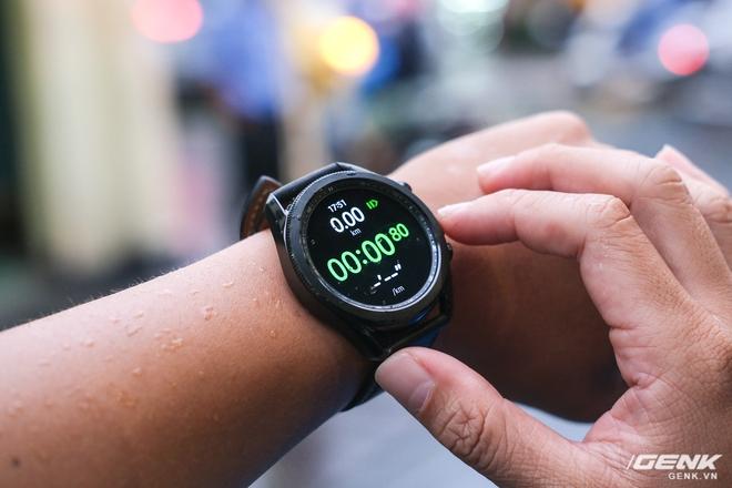 Mở hộp Galaxy Watch3 mặt 45mm: Thiết kế thanh lịch hơn, trang bị khả năng đo nồng độ oxy trong máu, có hơn 120 bài tập tại nhà, bản GPS giá từ 9,99 triệu đồng - Ảnh 15.