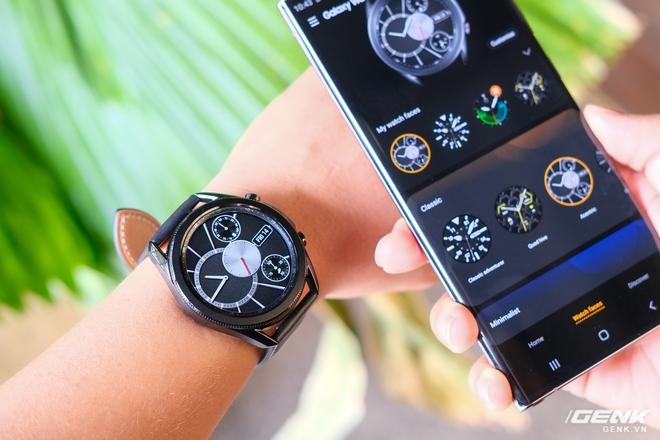 Mở hộp Galaxy Watch3 mặt 45mm: Thiết kế thanh lịch hơn, trang bị khả năng đo nồng độ oxy trong máu, có hơn 120 bài tập tại nhà, bản GPS giá từ 9,99 triệu đồng - Ảnh 13.