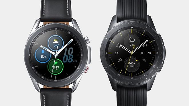 Mở hộp Galaxy Watch3 mặt 45mm: Thiết kế thanh lịch hơn, trang bị khả năng đo nồng độ oxy trong máu, có hơn 120 bài tập tại nhà, bản GPS giá từ 9,99 triệu đồng - Ảnh 7.