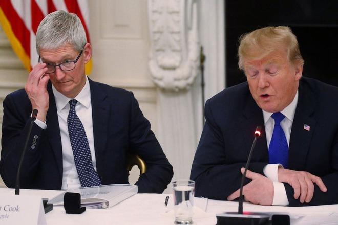 Đang lo lắng về lệnh cấm WeChat, Apple bị ông Trump dội một gáo nước lạnh - Ảnh 1.