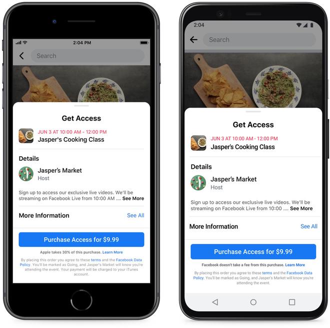 Bị Apple ngó lơ đề nghị giảm thuế 30%, Facebook tức giận tuyên bố Táo khuyết đang ăn quá dày - Ảnh 2.